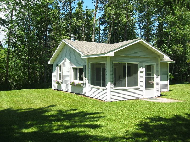 Charming Lake Front Cottage On Mullett Lake!!, holiday rental in Topinabee