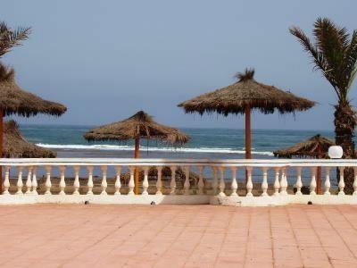 Terrace pool sea views and beach access