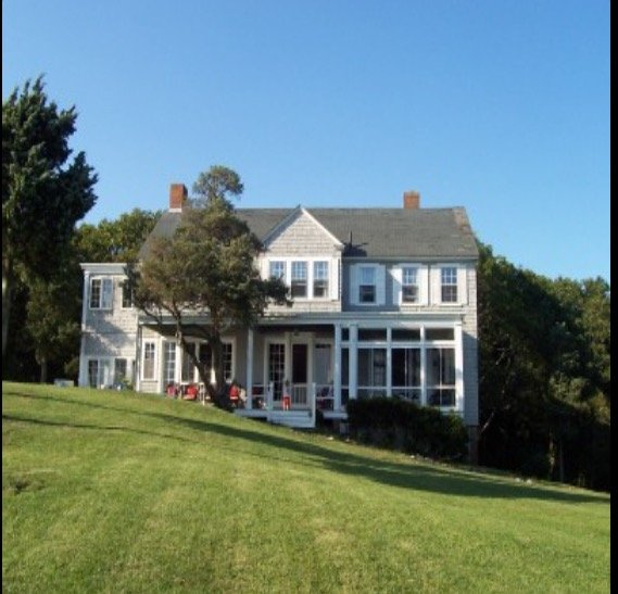 From the house, enjoy views of Martha's Vineyard, Cotuit Bay & Sampson's Island.