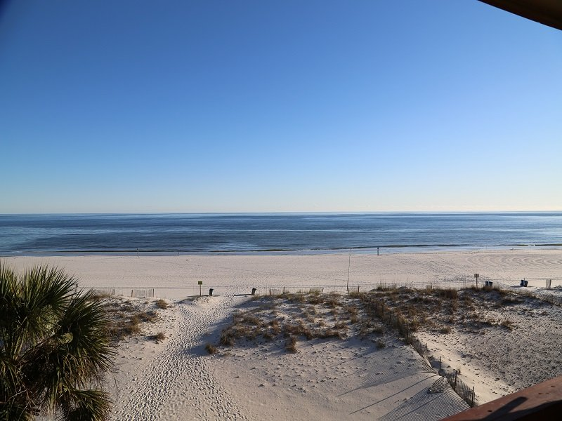 View from Private, Gulf Front Balcony