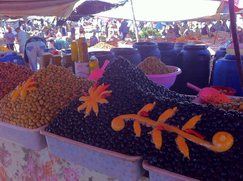 olives souk d'Awrir a'2 Km
