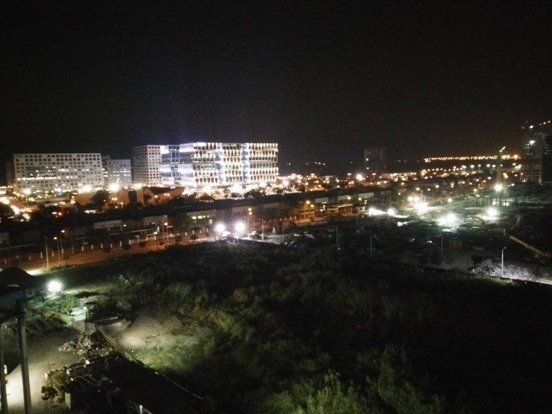 window view at night