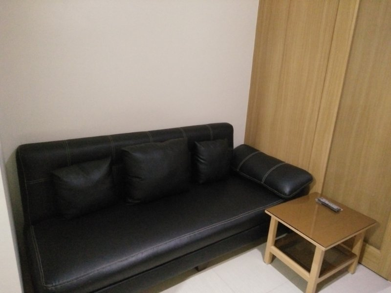 Sofa Bed with side table