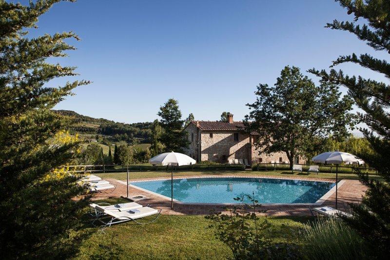 Tuscany Villa PODERE MONTI, holiday rental in Sant'Albino