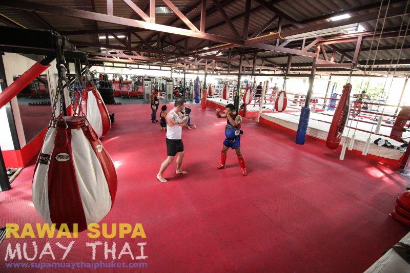 Large area training camp