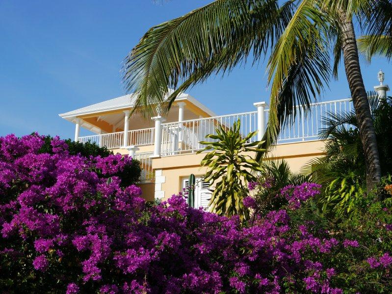 Südfassade der Karibik Meer 200 Meter Luftlinie mit Blick auf