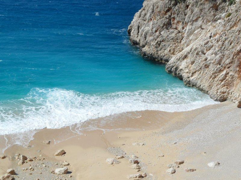 Der Strand von Kaputas. Ein schöner Ausflug.