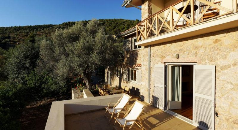 Epidavros Villa Stone Sleeps 11