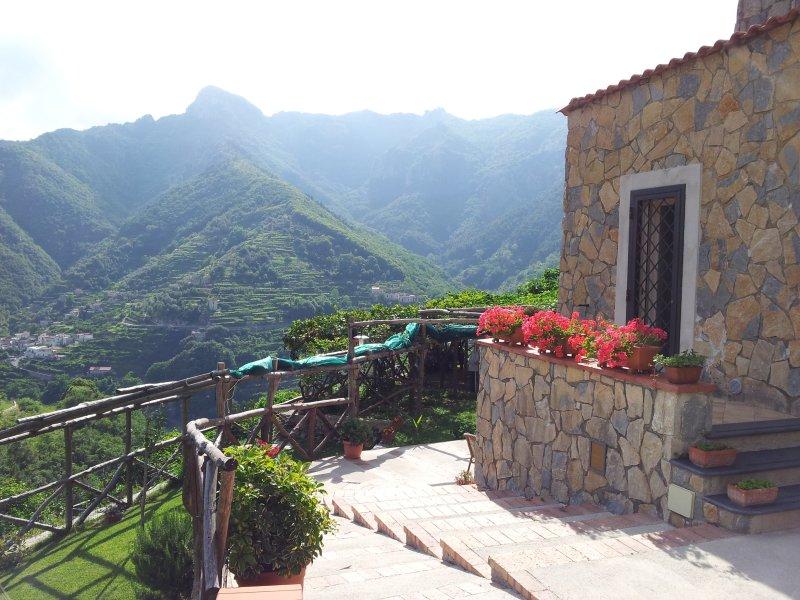 La Cantina - Tramonti/ Amalfi Coast, vacation rental in Pucara