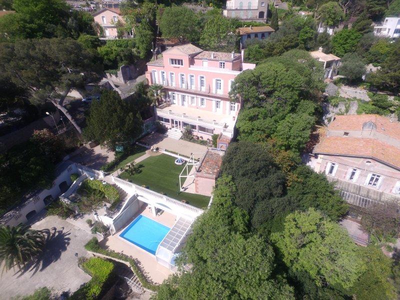 Vue aérienne du la maison
