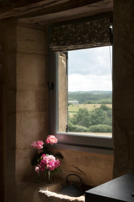 The view from the sitting room