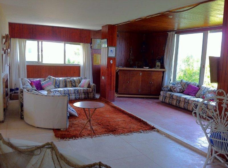 villa  en bord de mer avec grand jardin, vacation rental in Rabat-Sale-Zemmour-Zaer Region