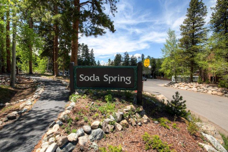 Le complexe Soda Spring ne manquera pas d'impressionner.