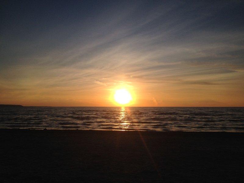 Enjoy the sunsets