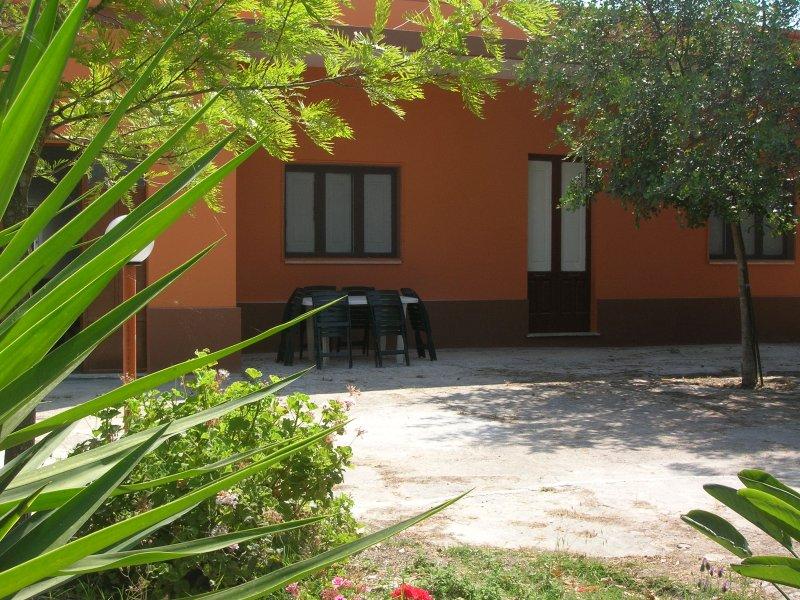 Casa vacanza nel verde a pochi km da Gallipoli.
