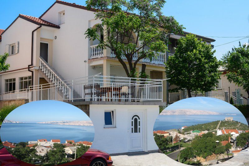 Spacious duplex house with a Beautiful sea view, vacation rental in Senj