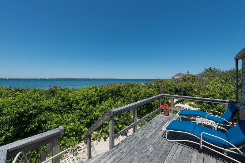 Ocean Side of Cottage