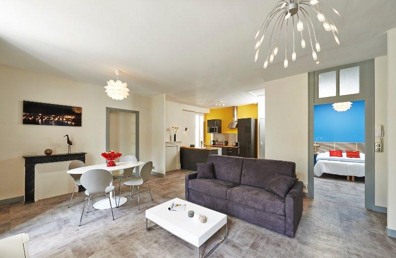 Appartement Centre-ville Angers 60m² - Quernon, location de vacances à Angers
