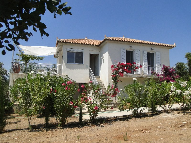 nice home with sea view ionian see, holiday rental in Neochori