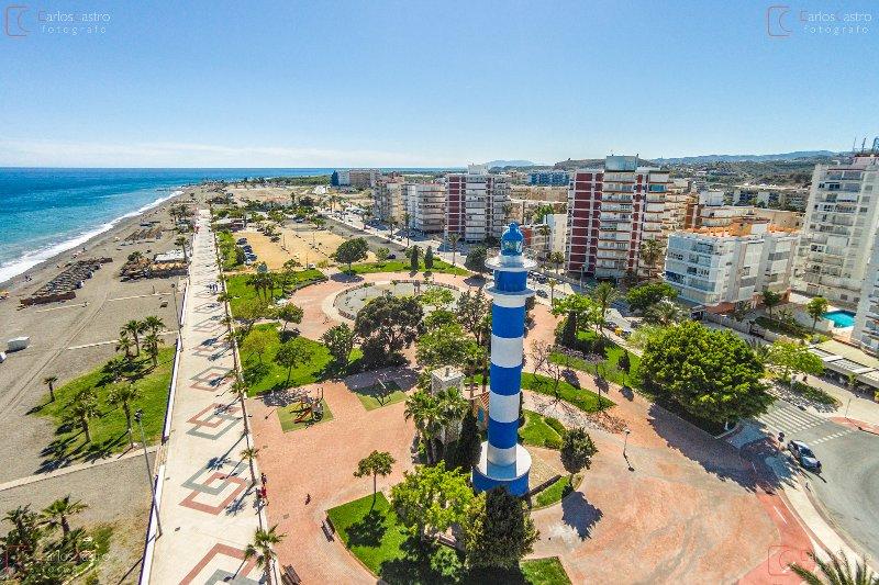 Views of Torre del Mar and its promenade