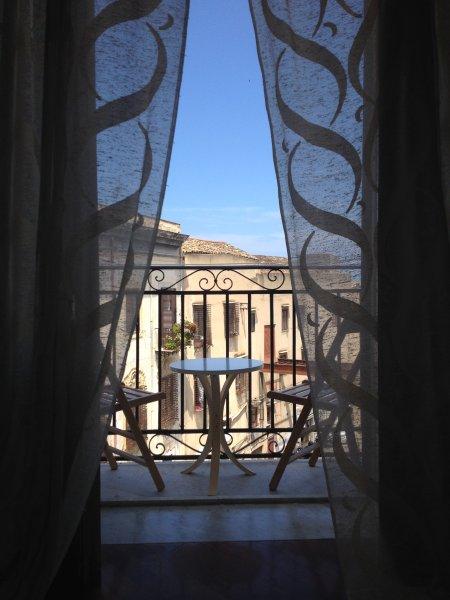 Vista da una delle 3 balconi disponibili