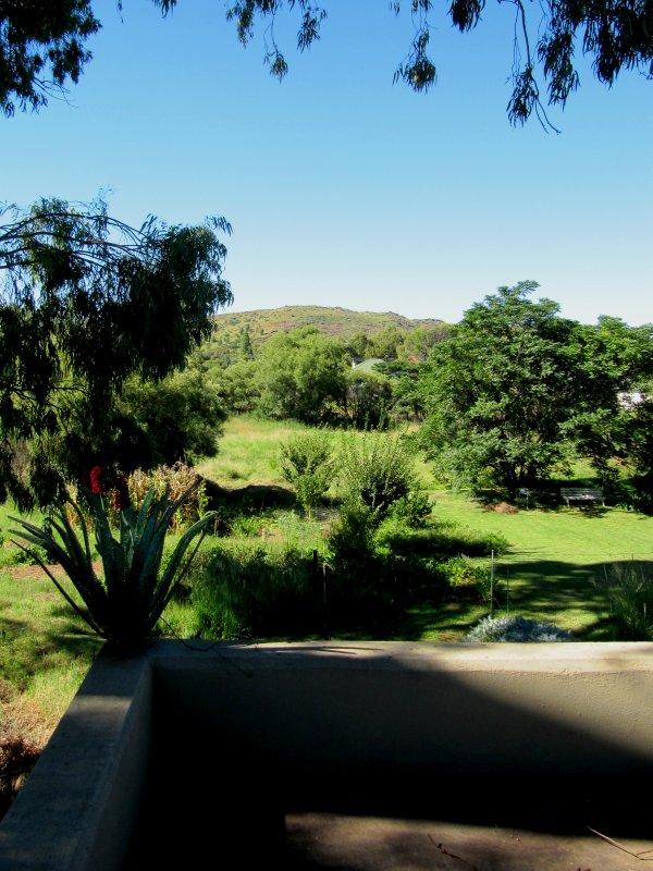 Vista desde la terraza de arriba.