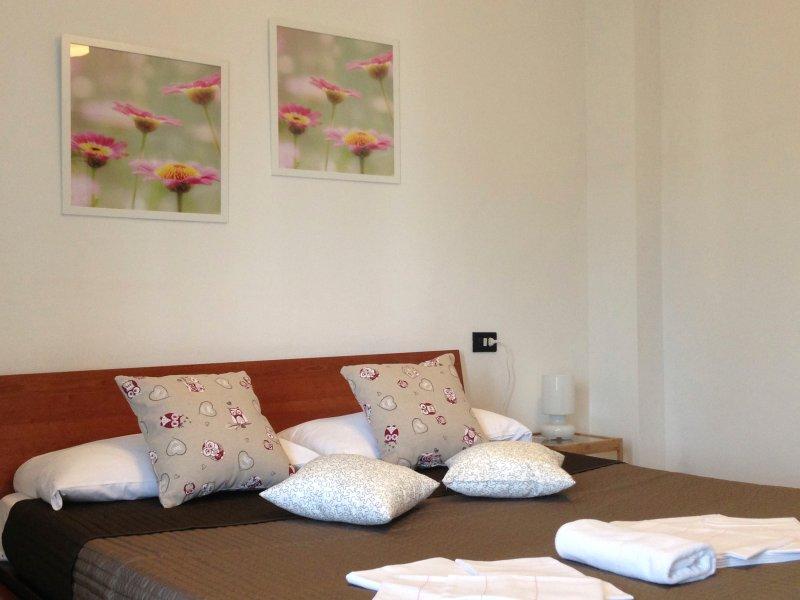 Camera suddivisa in due ambienti con angolocottura, holiday rental in Mezzana-Colignola