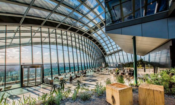 The Sky Bar in the 'Walkie Talkie' is just seconds away!