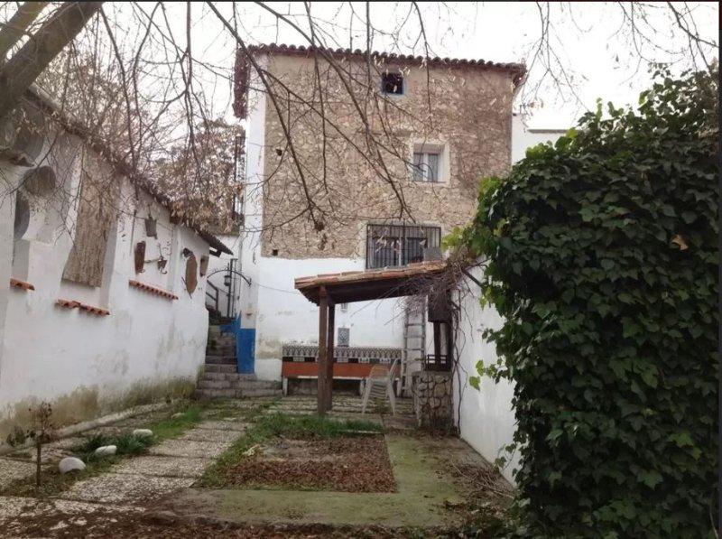 vista de la vivienda desde el patio