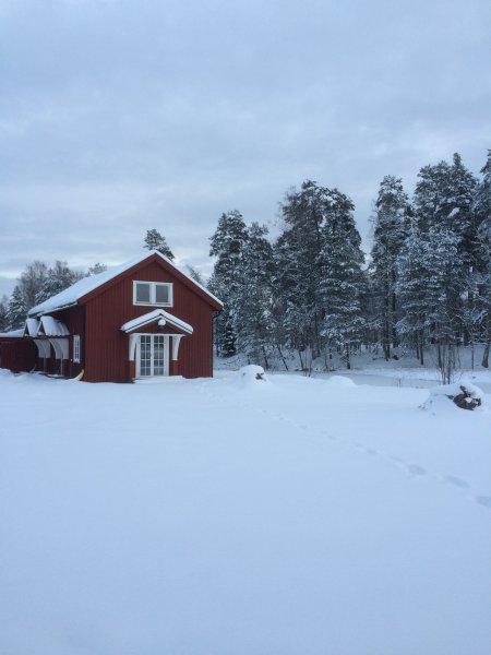 Aussi très agréable pendant l'hiver!