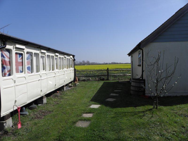 the railway carraige