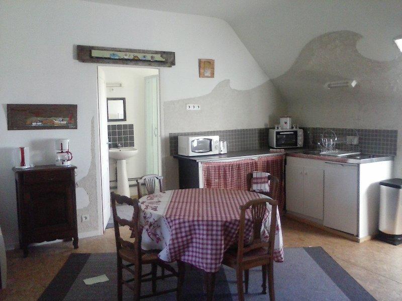meublé cosy dans un ancien couvent, holiday rental in Prat