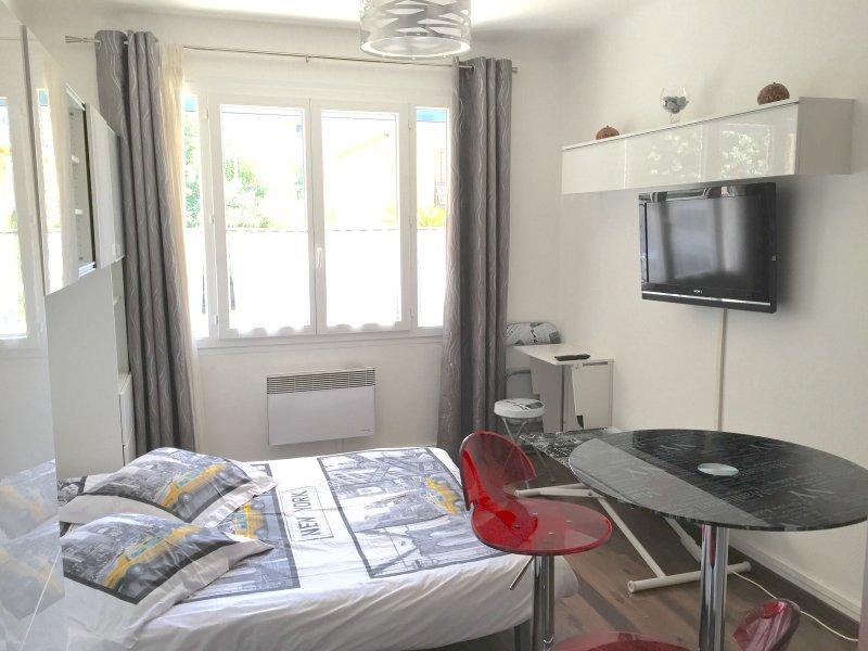 estancia para dormir Dormitorio (sofá abierto)