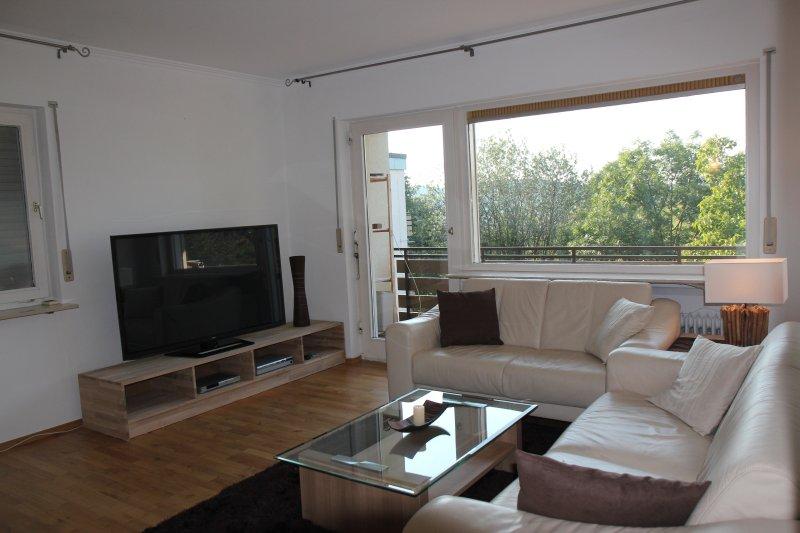 Cosy 2 room apt with nice balcony, location de vacances à Enzklosterle