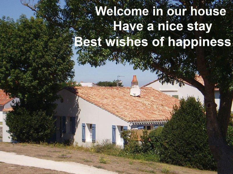 Maison 6 personnes avec jardin et garage -  WIFI, location de vacances à Saint Martin de Re