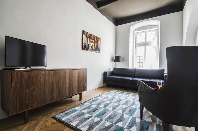 K57 - Chic apartment on main pedestrian street, holiday rental in Kozarmisleny