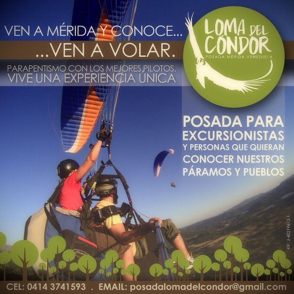Posada Loma del Cóndor, holiday rental in Venezuela
