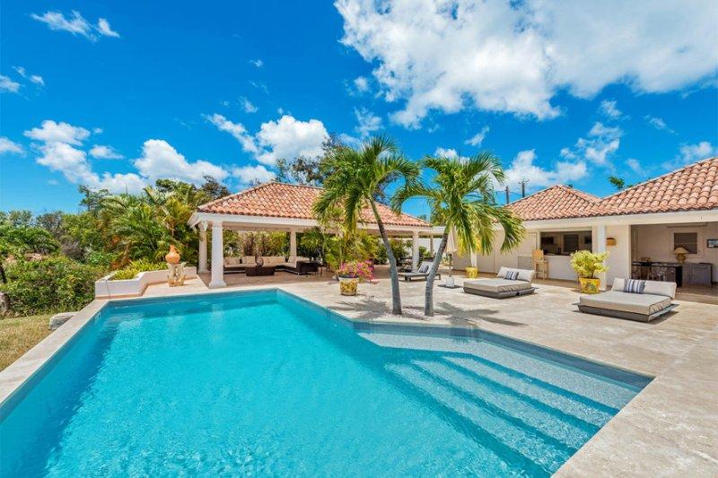 Villa La Nina, 2BR vacation rental, Terres Basses, St Martin