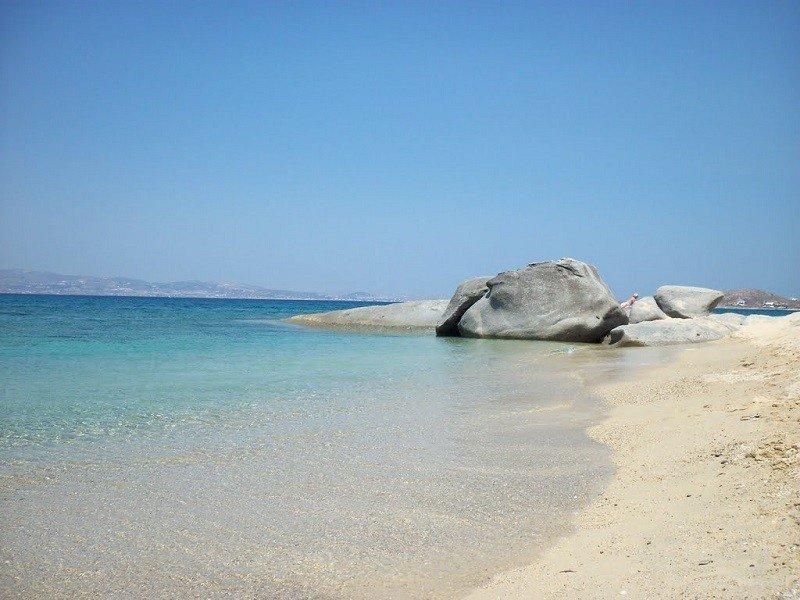 Plaka Beach (300 meters away from house)
