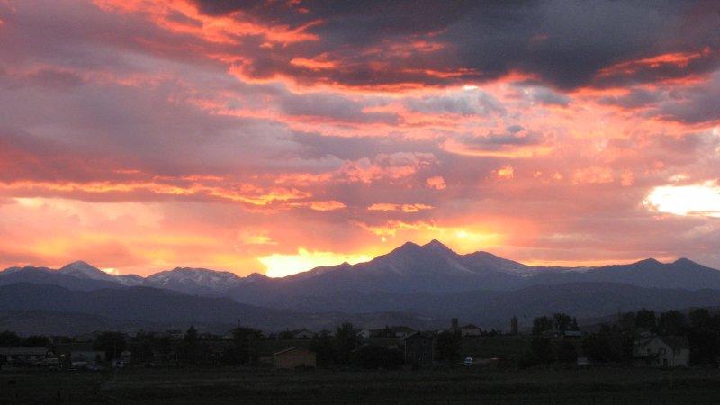Mt. Meeker und Longs Peak