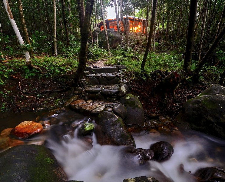 Daintree Cascades - The Roundhouse – semesterbostad i Cow Bay