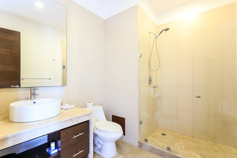 In room bathrooms