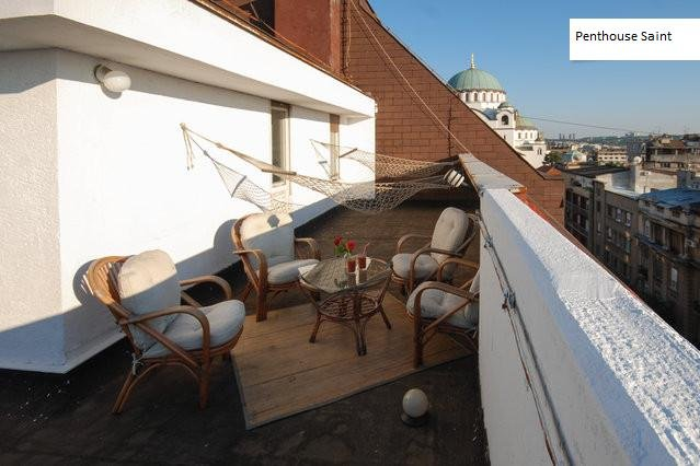 Luxus Penthouse for 5 in CityCenter garage & view, holiday rental in Belgrade