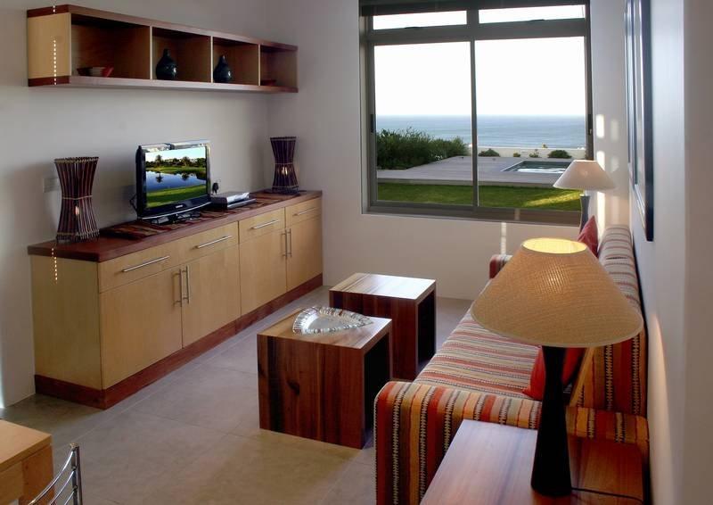 Ocean View suite lounge area.