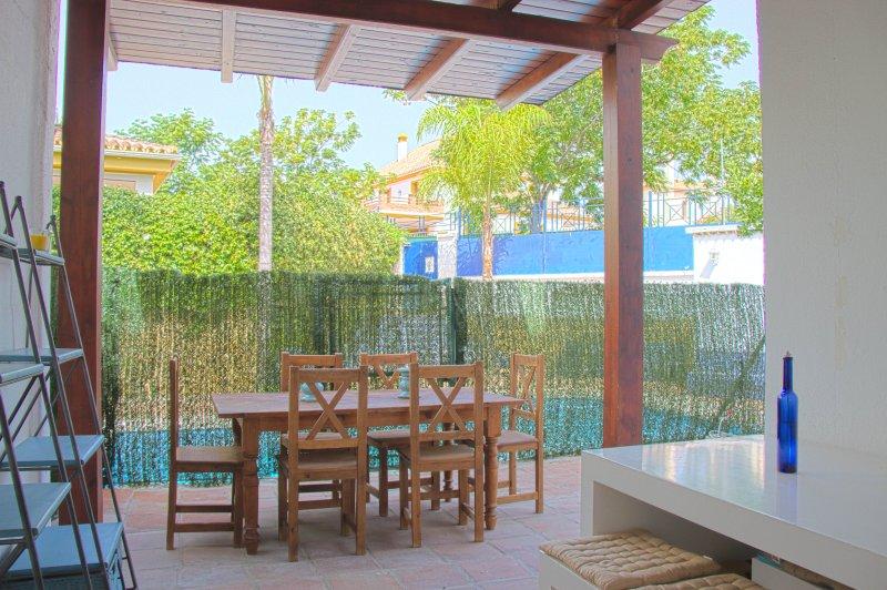 jantar fora e acesso directo à piscina