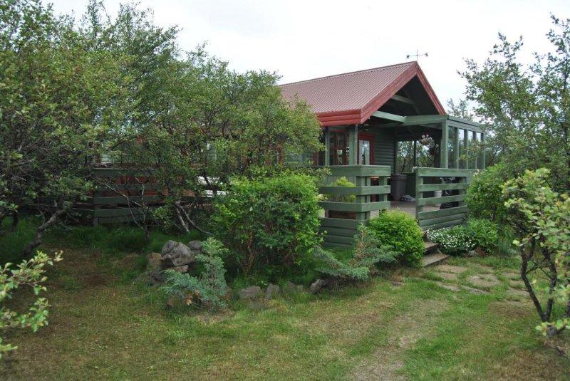Flankastaðir Cottage, holiday rental in Reykholt