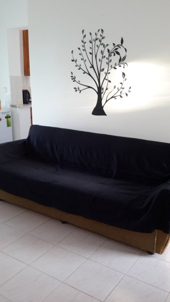 Sofa bed - click-clack type converts into a small double.