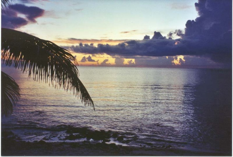 Sunrise at Casa Caribe
