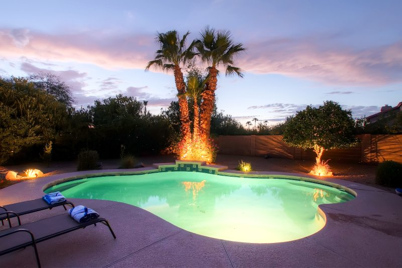 End each day with an evening dip!