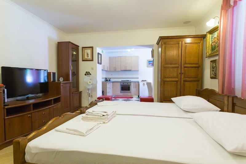 Big studio apartment in Mlini, casa vacanza a Celopeci